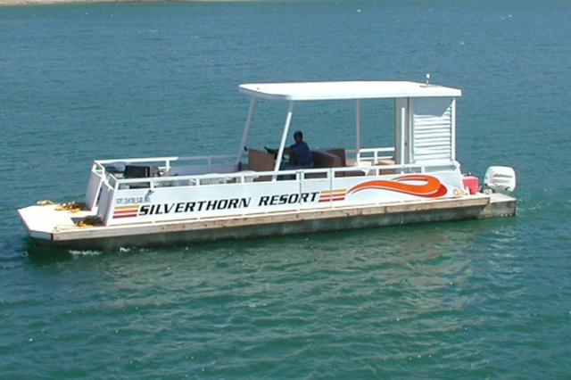 Cruise the lake on one of our 8 passenger boats for an enjoyable outing.
