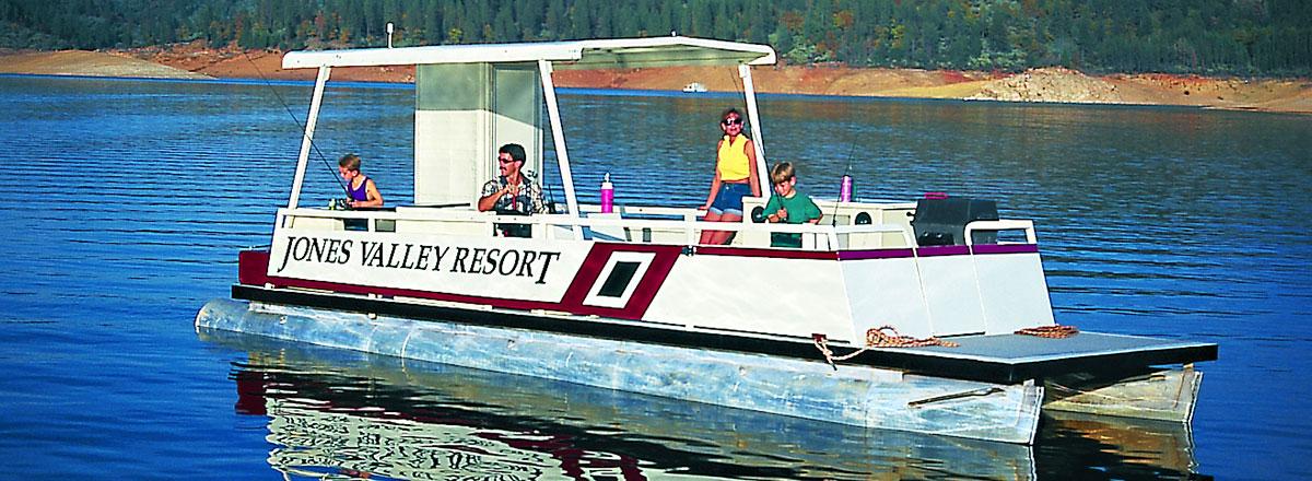 Deluxe Patio Boat