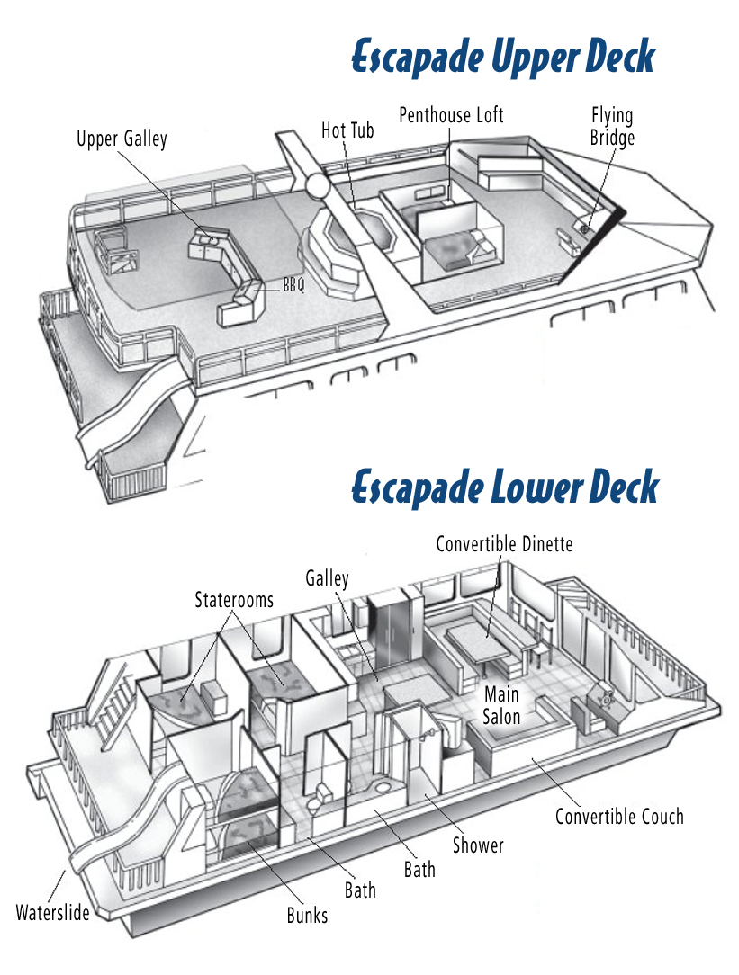 Escapade Layout